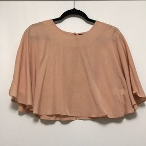 DO+BE peach flowy top!
